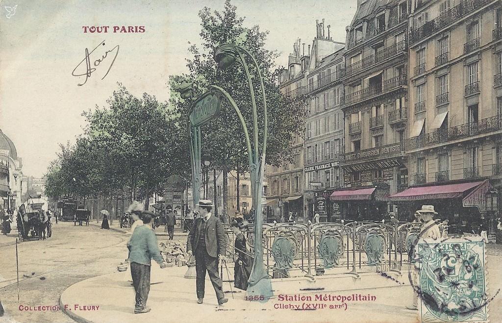 Place de Clichy Line 13