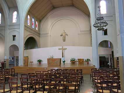 L'église Pouchet, au cœur de la paroisse des Epinettes