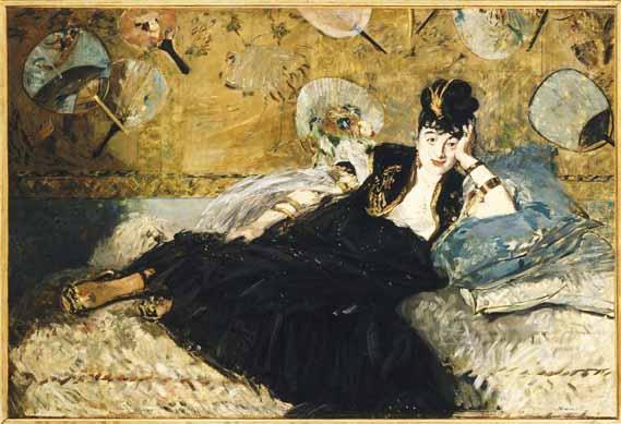 La dame aux éventails ou quand Manet allait au salon de Nina Caillas aux Epinettes
