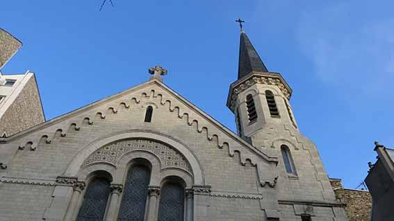 L'église protestante du boulevard des Batignolles