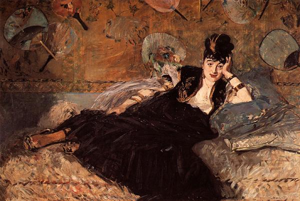 La dames aux éventails - 1873  Edgar Manet