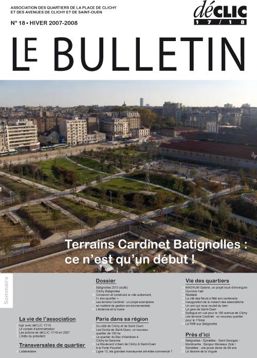 Bulletin de liaison N°18