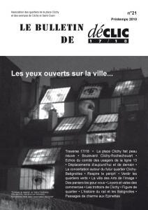 Bulletin de liaison N°21